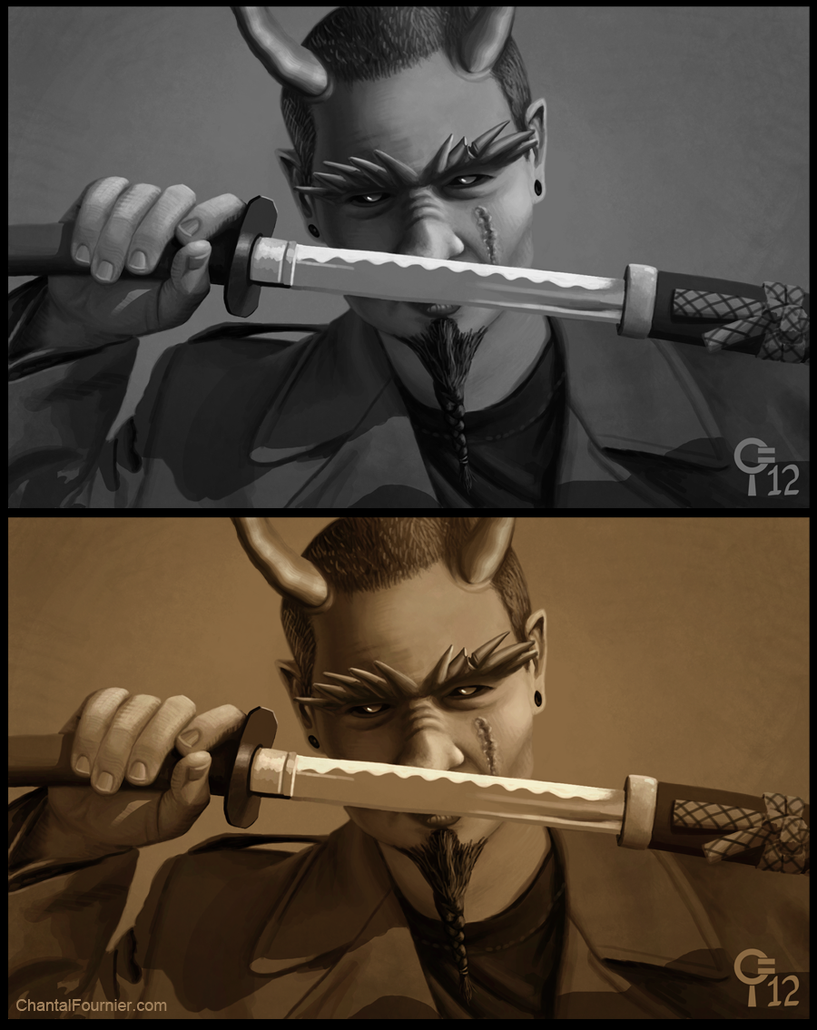 Illustration Katana Karl